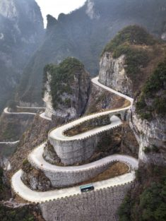 Tianmen Mountain, China – Most Beautiful Picture of the Day: September 25, 2017 – Most Bea ...