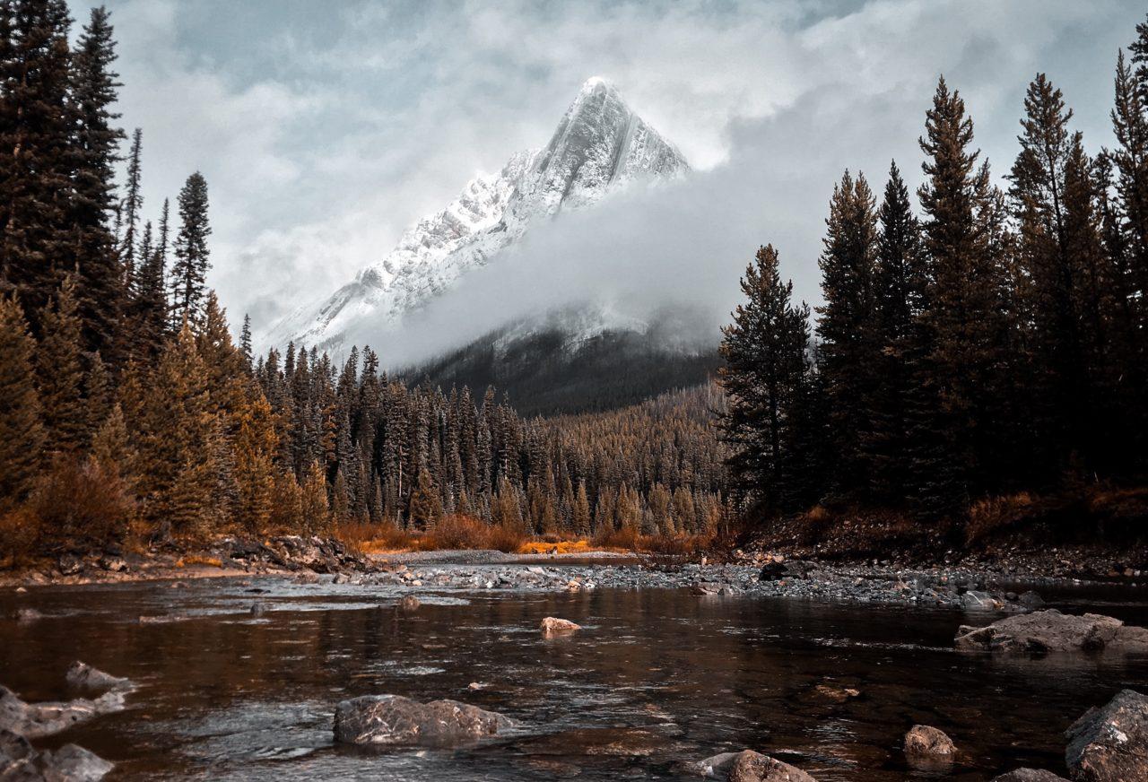 Cone Mountain, Alberta, Canada