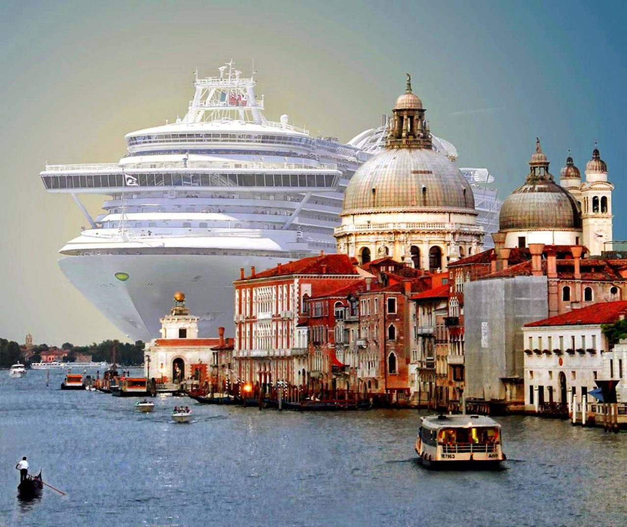 Cruise Tourism in Venice, Italy – Most Beautiful Picture of the Day: October 18, 2017 – Mo ...