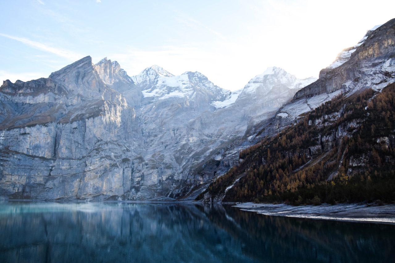 Oeschinen Lake, Kandersteg, Switzerland