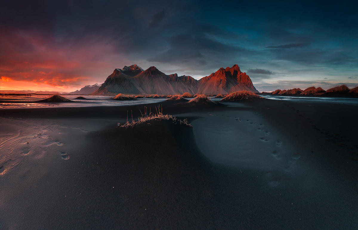 Colours of Iceland, Stokksnes