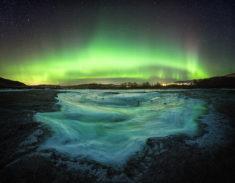 Aurora above Norway