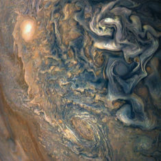 Jupiter's clouds – Most Beautiful Picture of the Day: January 5, 2018 – Most Beautif ...