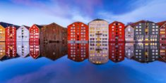 Reflexion, Trondheim, Norway – Most Beautiful Picture
