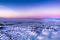 Snow fields – Most Beautiful Picture