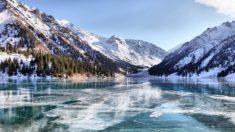 Almaty Lake, Kazakhstan