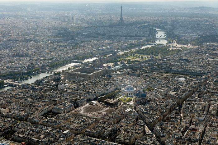 Paris landscape | ArchitecturePin