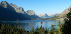 St. Mary Lake and Wild Goose Island, Glacier National Park, Montana