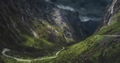National Park Fjordland, New Zealand
