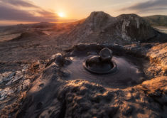 Mud volcanoes of Gobustan, Azerbaijan