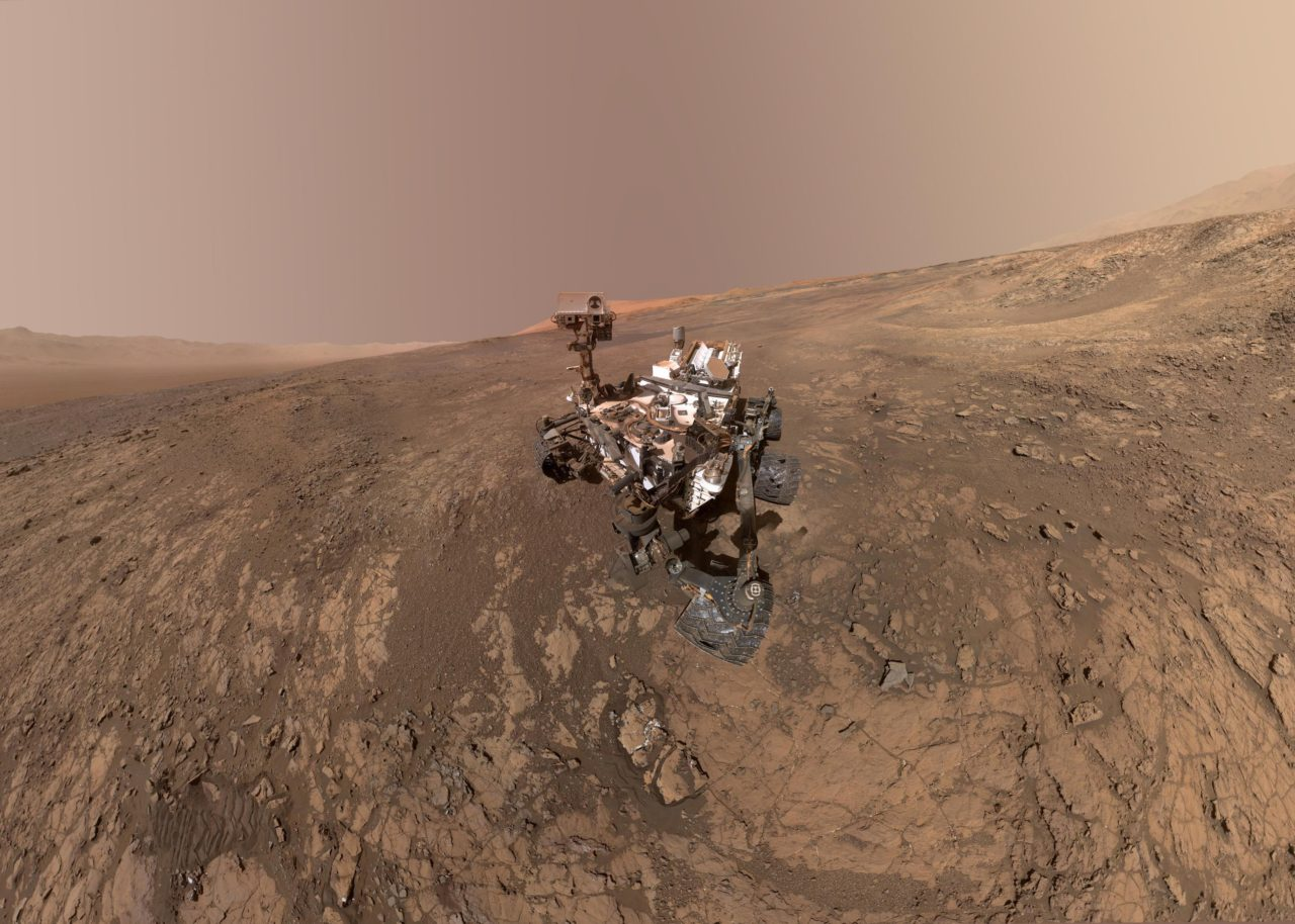 Curiosity Mars Rover, NASA – Most Beautiful Picture