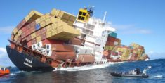 Giant ship Rena aground, Tauranga, New Zealand – Most Beautiful Picture