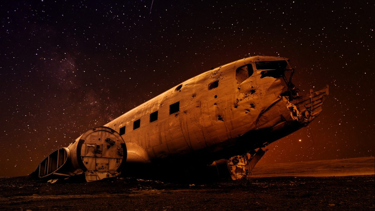 Wreck of plane, Sólheimasandur, Iceland – Most Beautiful Picture