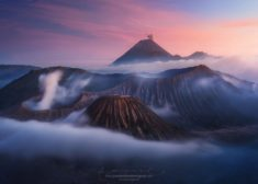 Bromo and Semeru volcanoes, Indonesia
