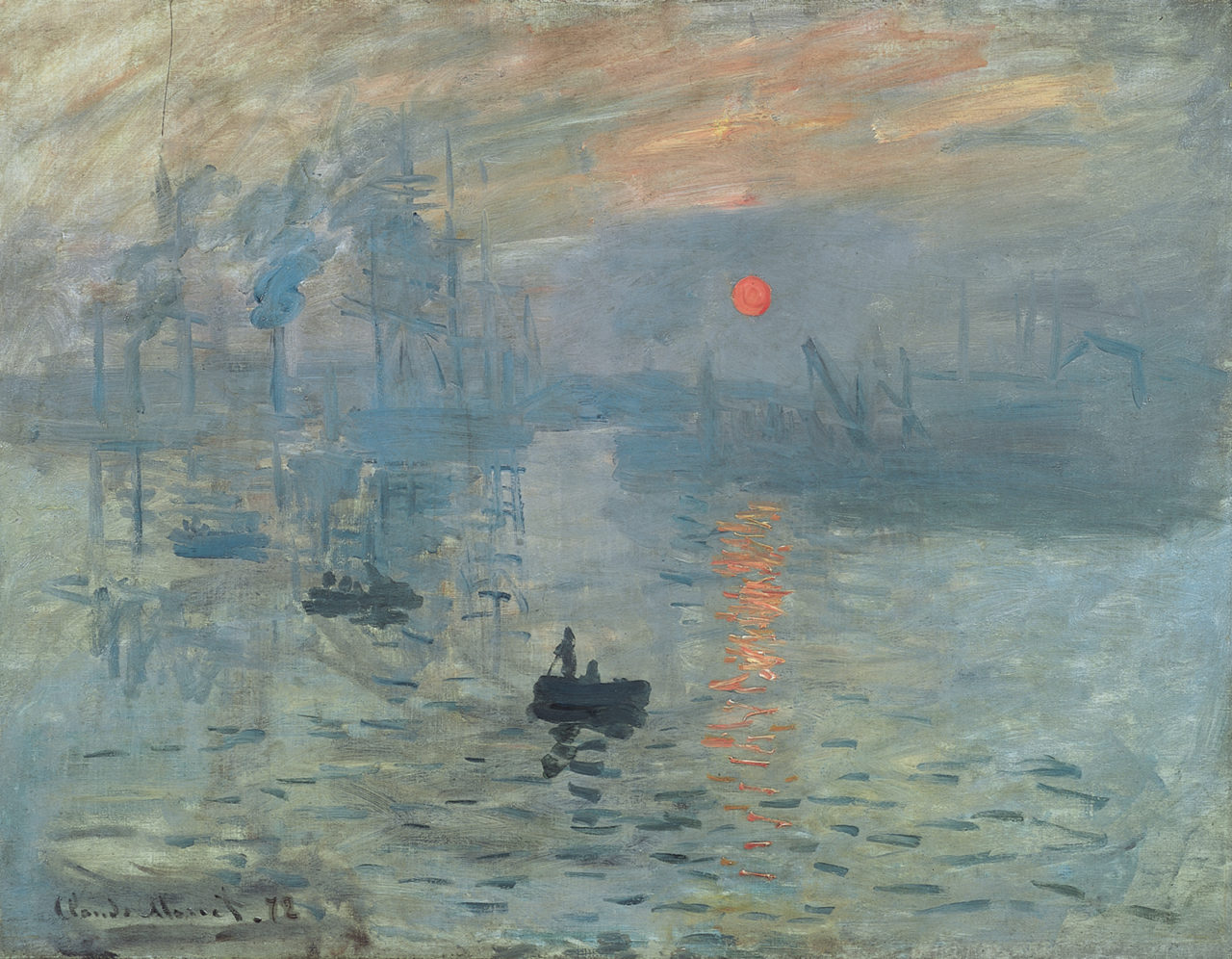 Impression, soleil levant, Claude Monet, 1872 – Most Beautiful Picture