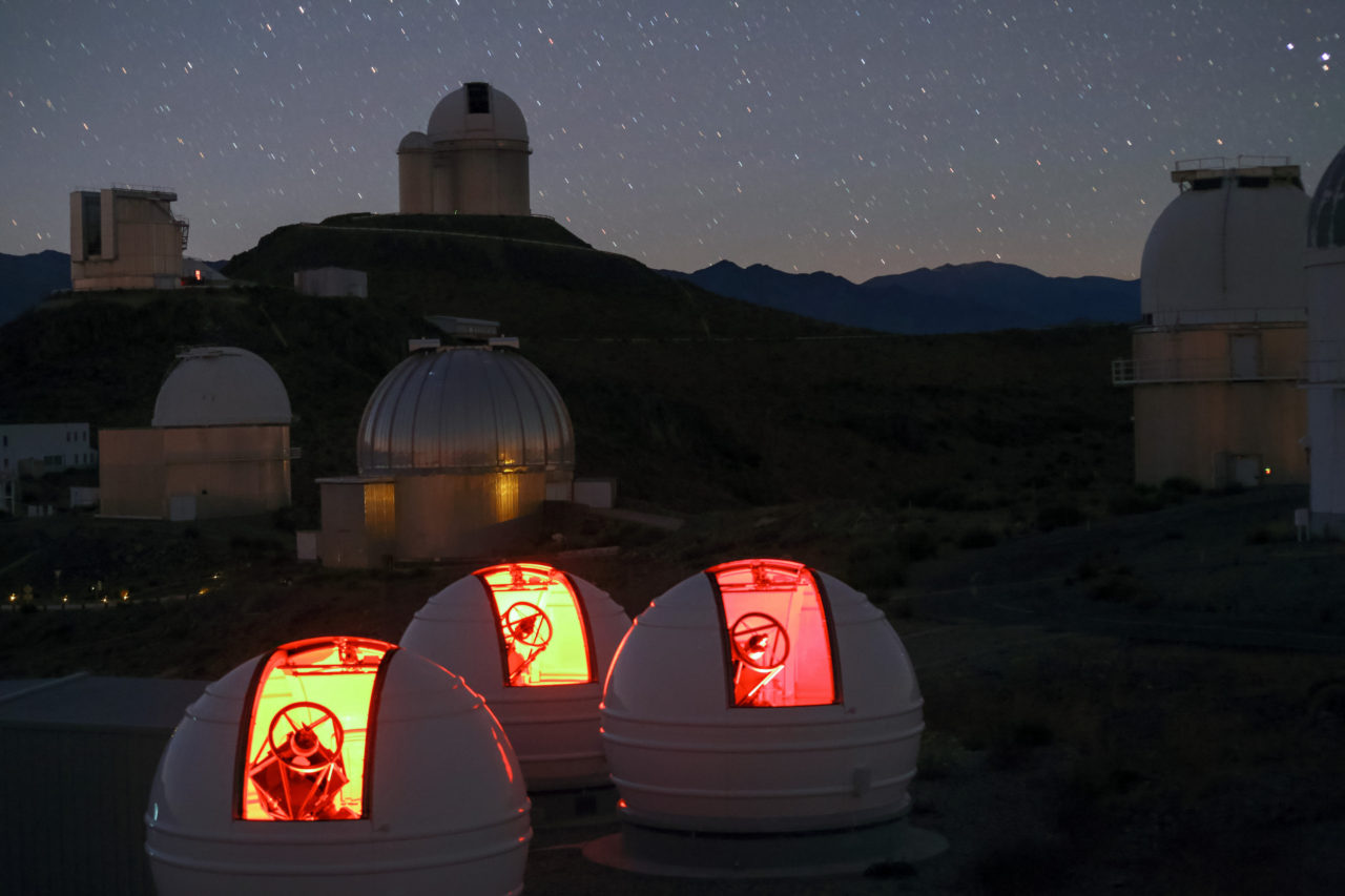 ExTrA telescopes, La Silla, Chile – Most Beautiful Picture