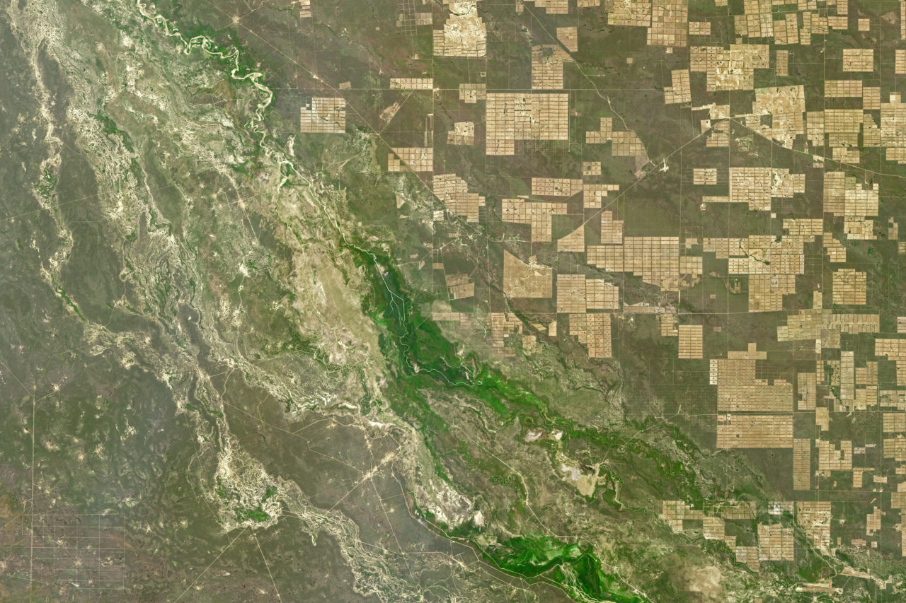 Paraguay – Deforestation (2018) • Map • PopulationData.net