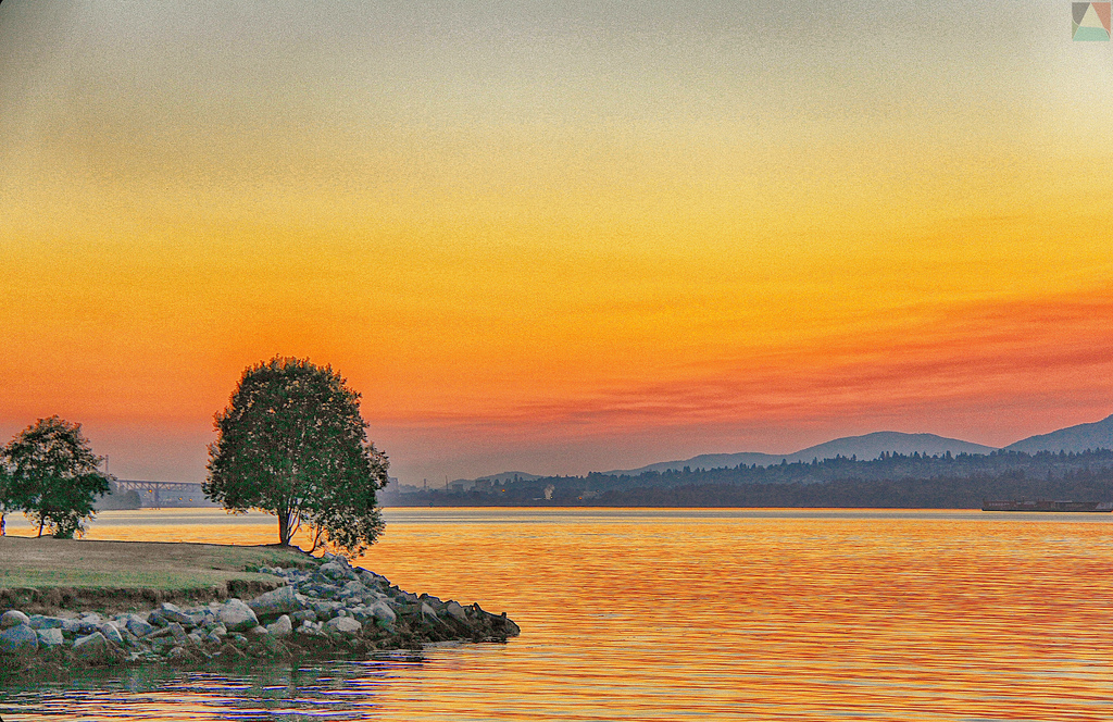 River Sunset – Most Beautiful Picture