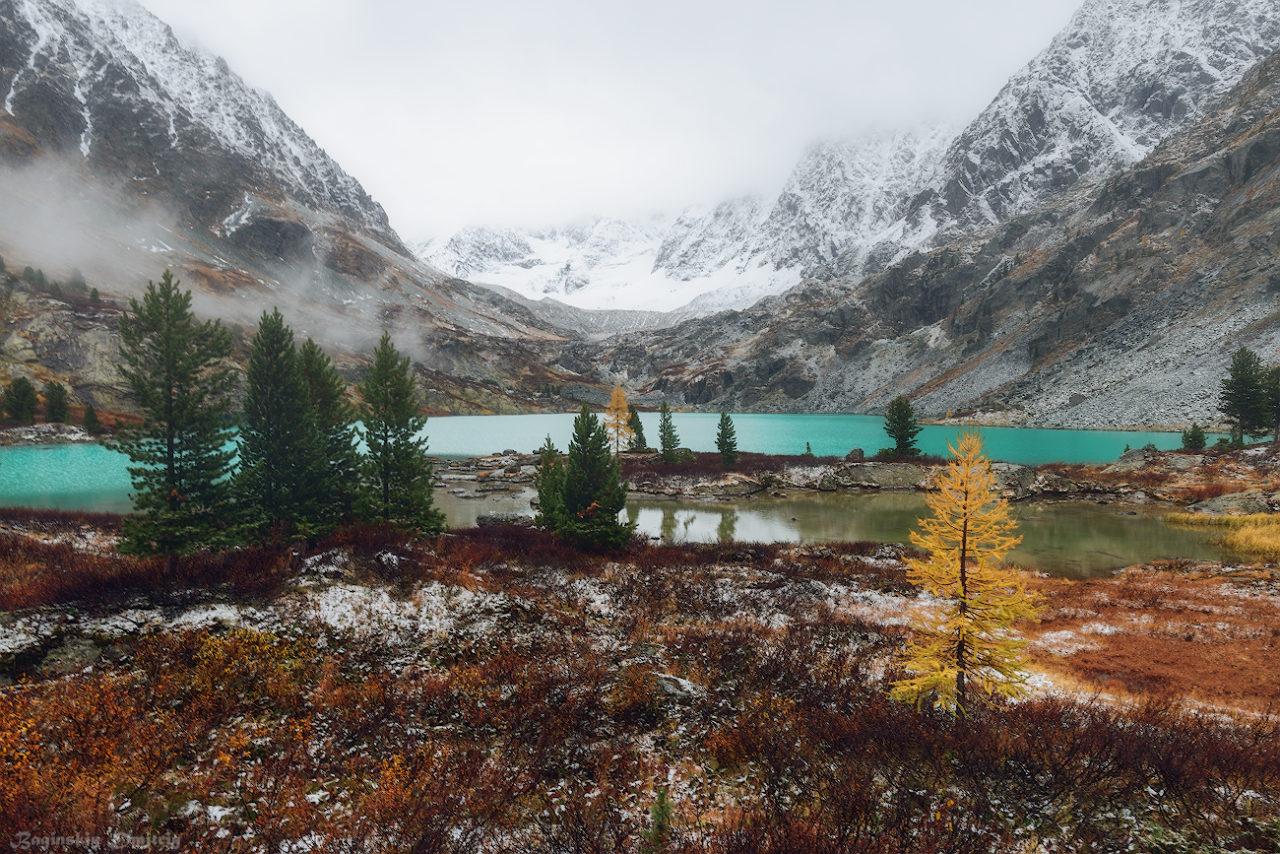 Lake Kuiguk, Altai Mountains, Russia