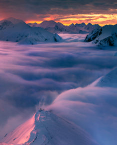 Above the clouds, Tatra Mountains, Poland