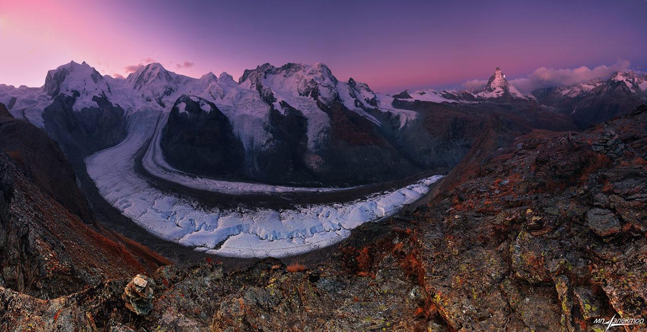 Monte Rosa, Switzerland and Italy