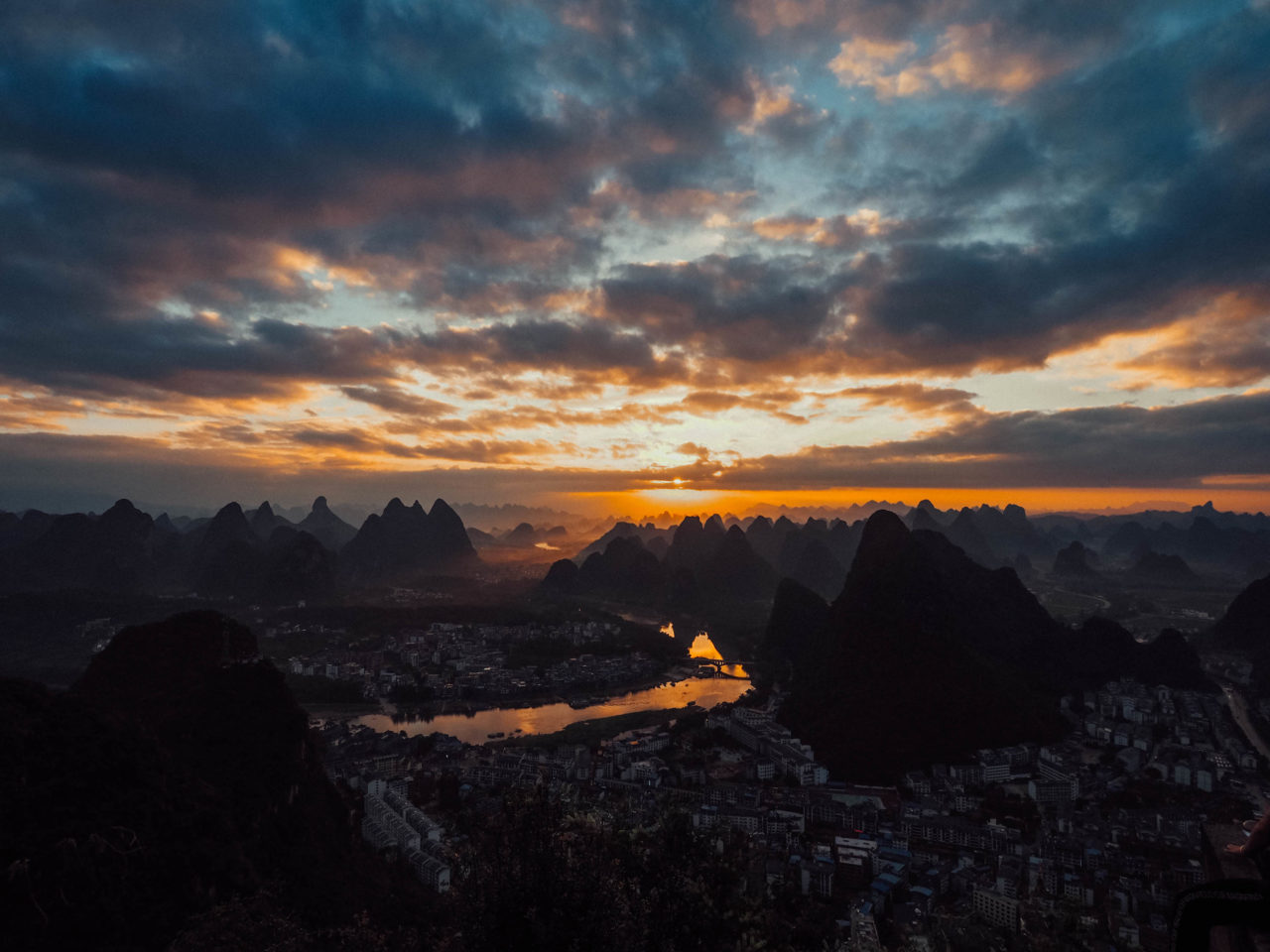 Sunset in China – Most Beautiful Picture