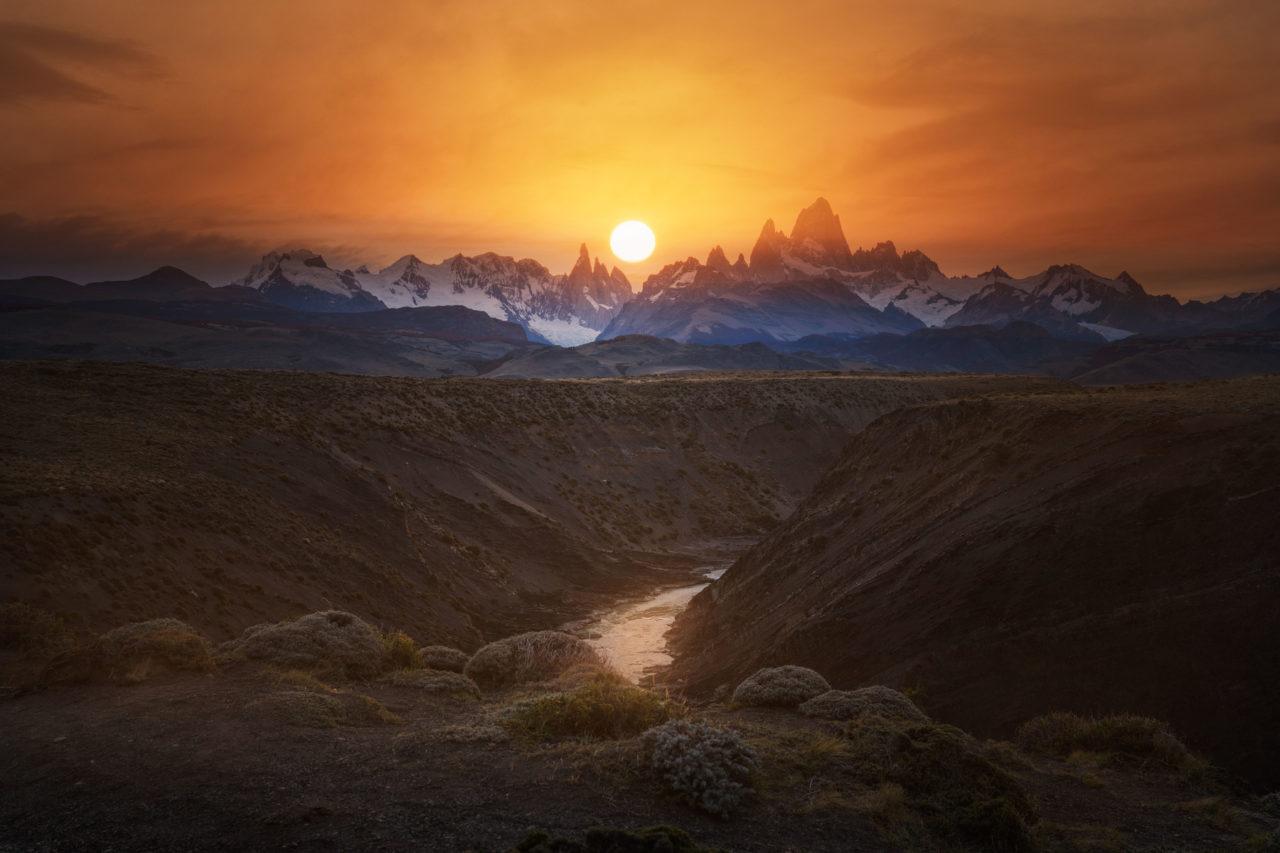 Evening in Patagonia, Argentina