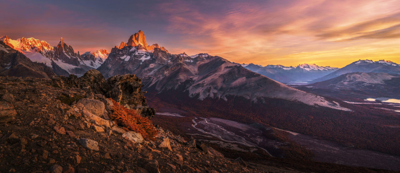 Dawn in Patagonia – Most Beautiful Picture