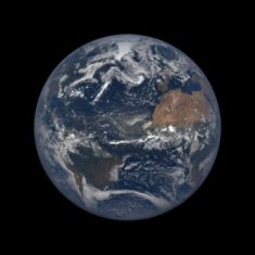 The Earth, July 17, 2018