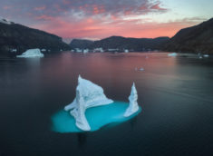 Iceberg in Scoresby Sund, Greenland