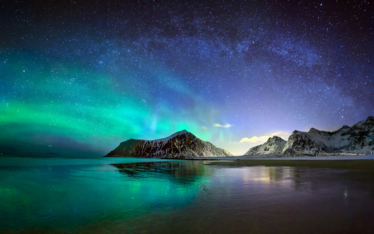 Aurora above Iceland