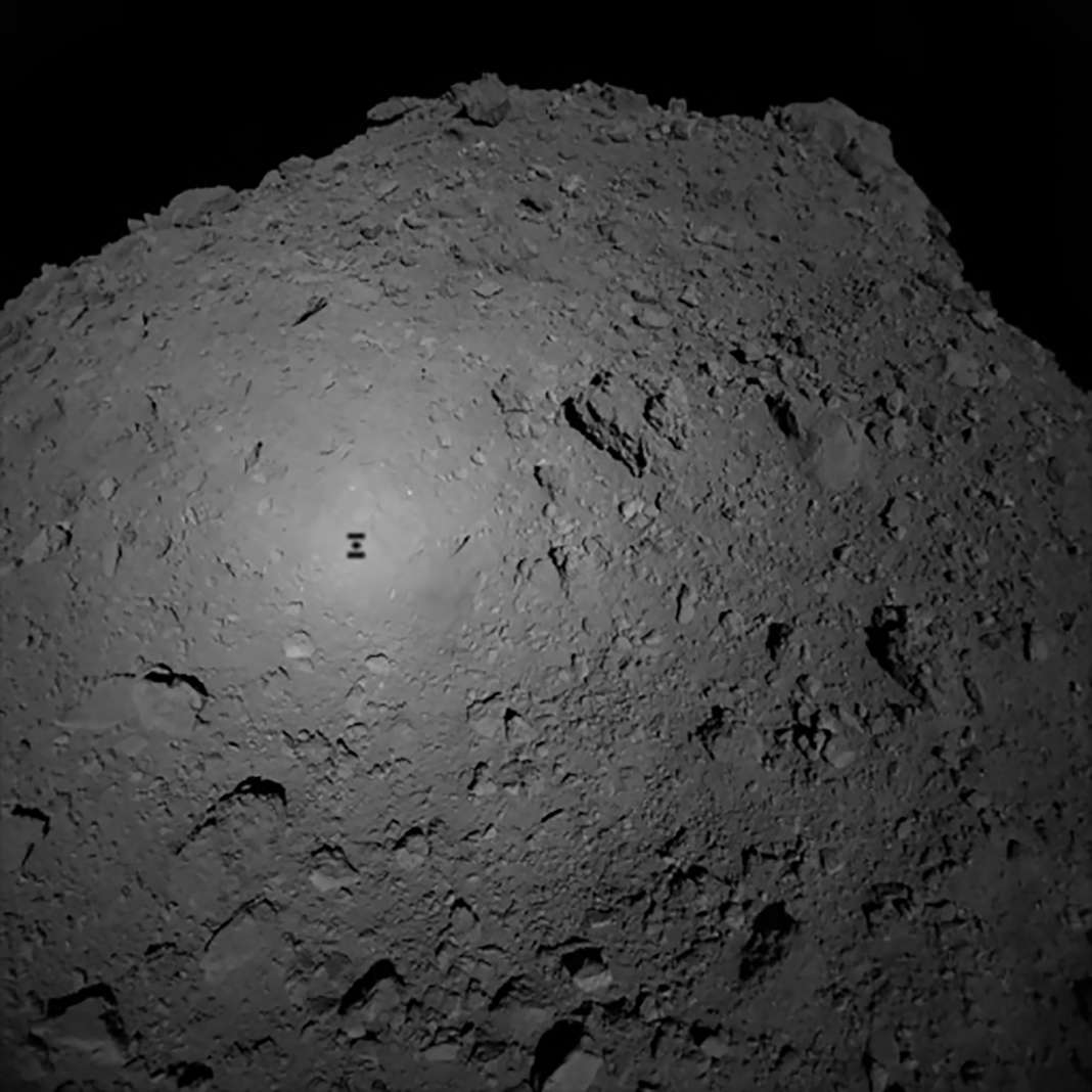 Robot MASCOT landing on Asteroid Ryugu – Most Beautiful Picture