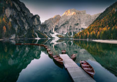 Lago di Braies, Dolomites, Alps, Italy