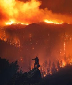 California Fire – Most Beautiful Picture