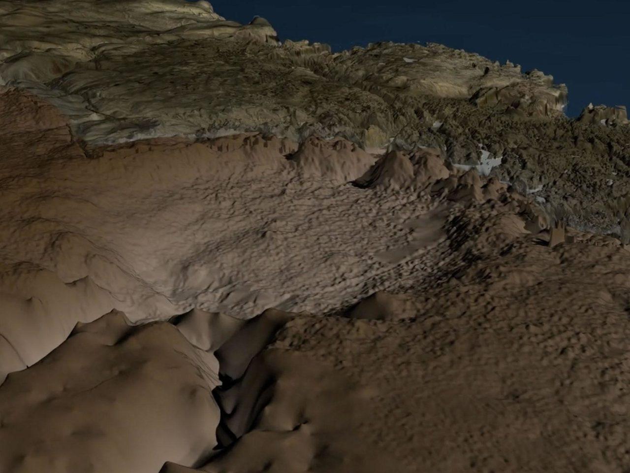Giant meteorite crater bigger than Paris found beneath Greenland's ice sheet