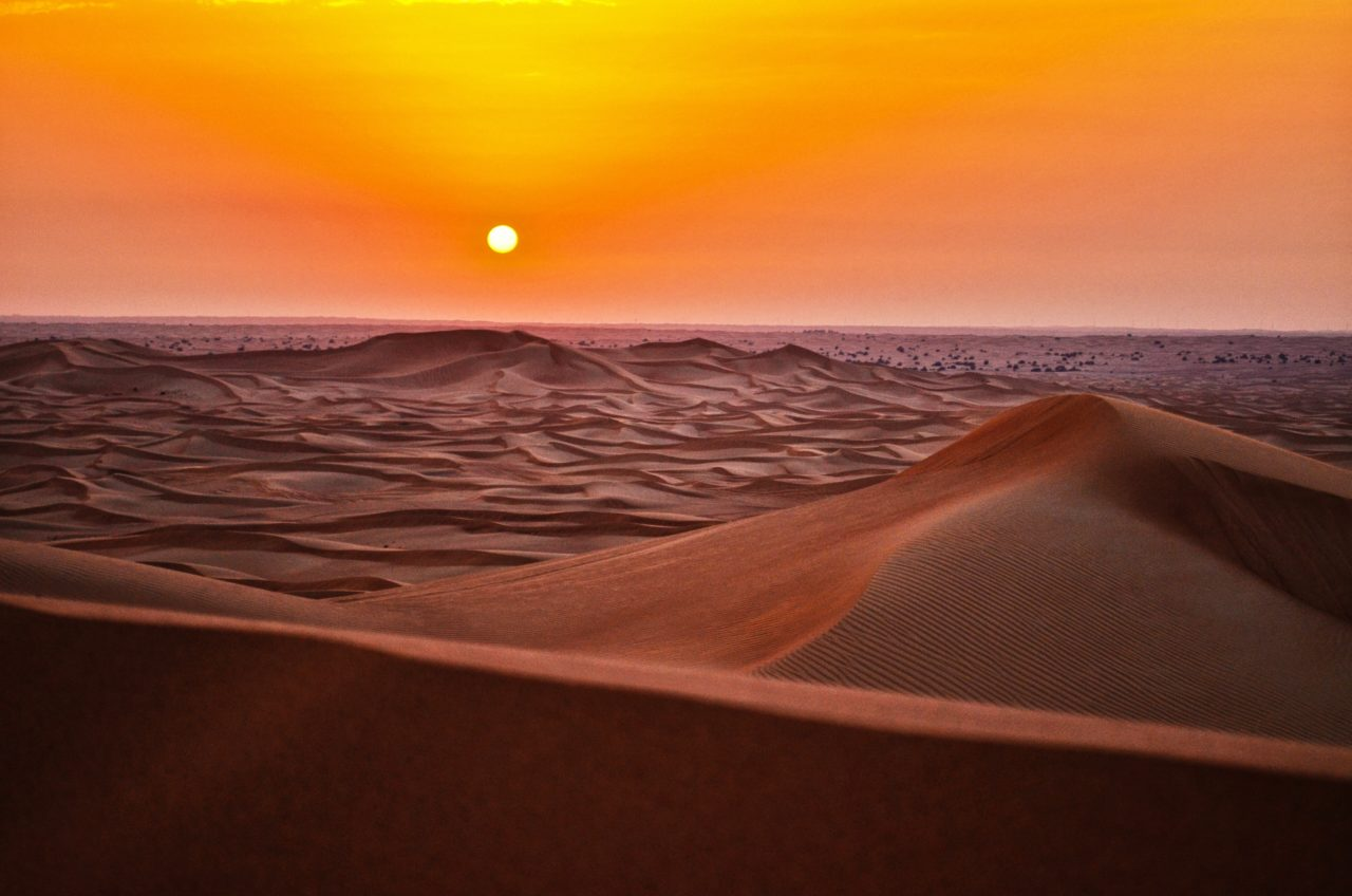 Desert Sunset – Most Beautiful Picture