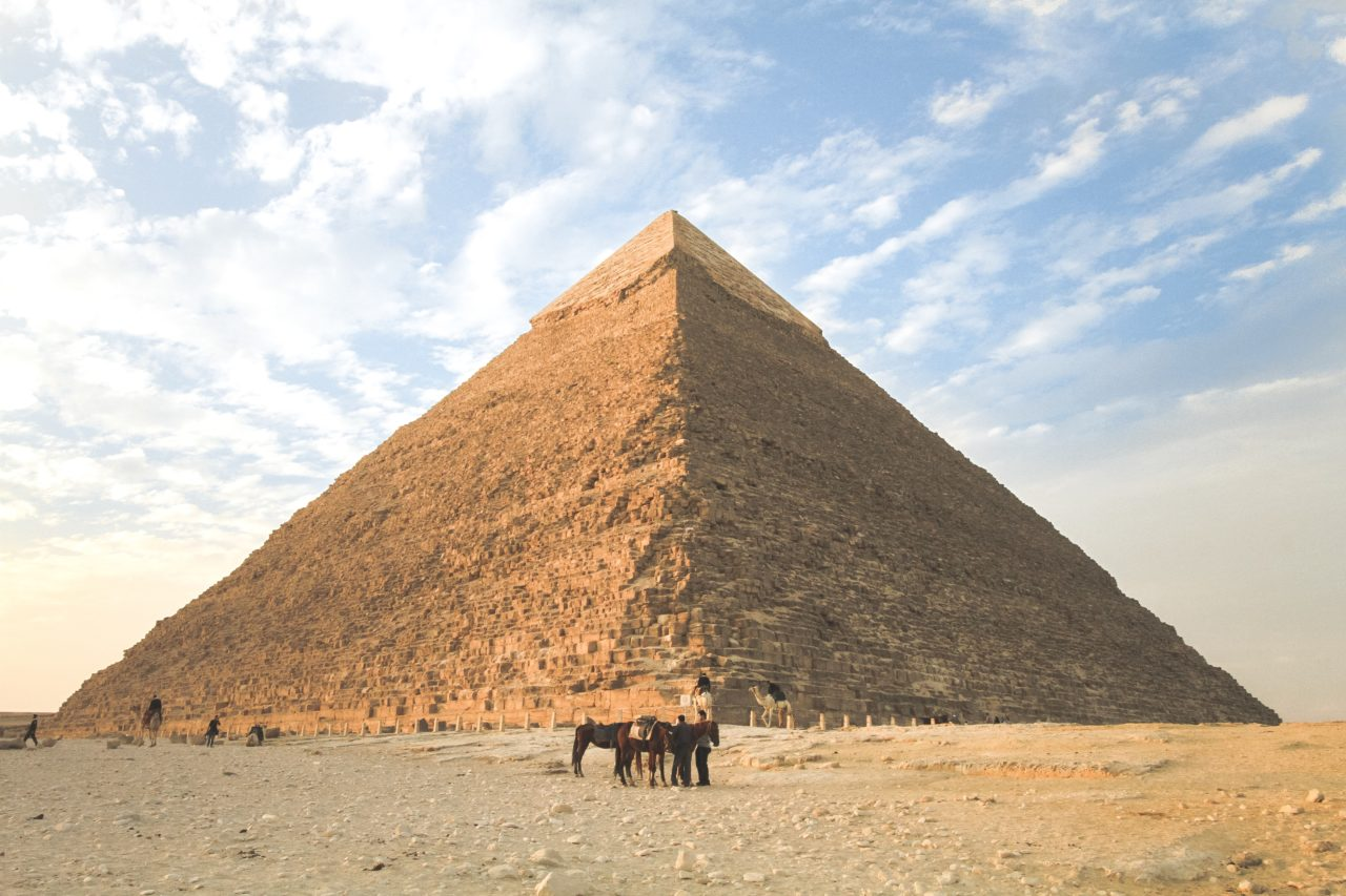 Pyramid of Giza, Egypt – Most Beautiful Picture