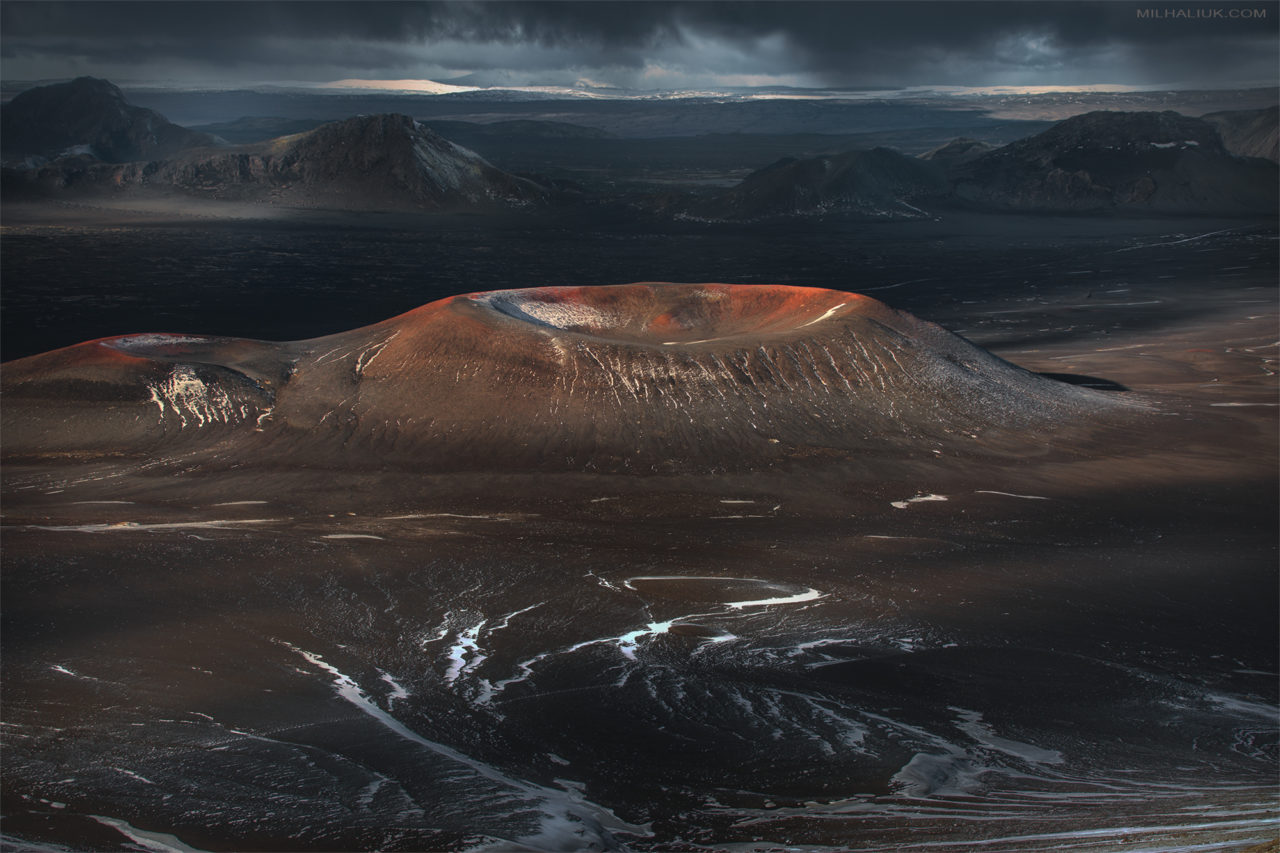 Volcanoes Land – Most Beautiful Picture