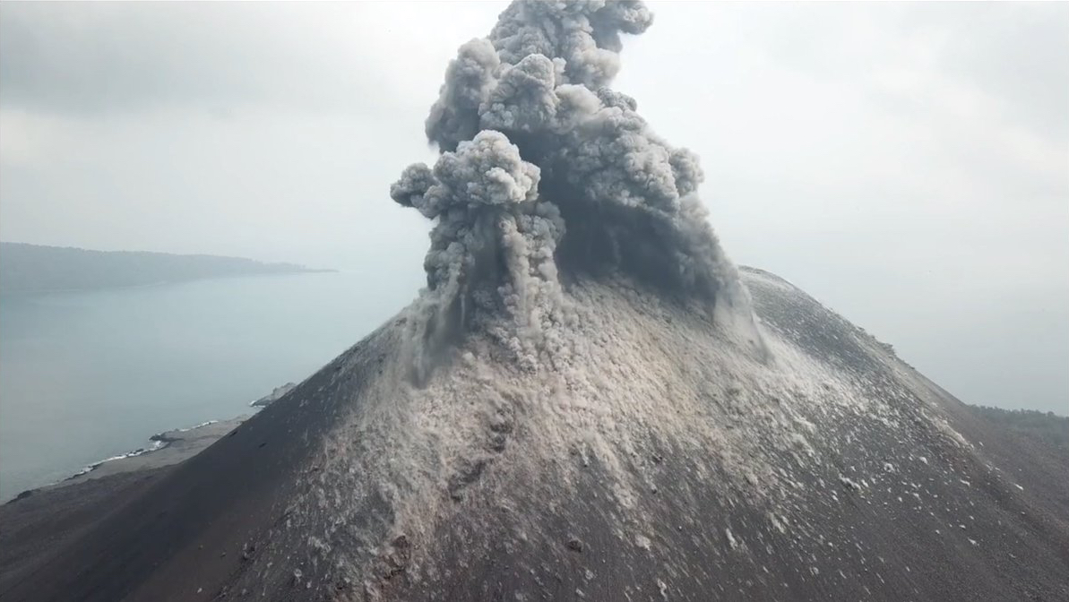 Anak Krakatoa eruption, Indonesia – Most Beautiful Picture