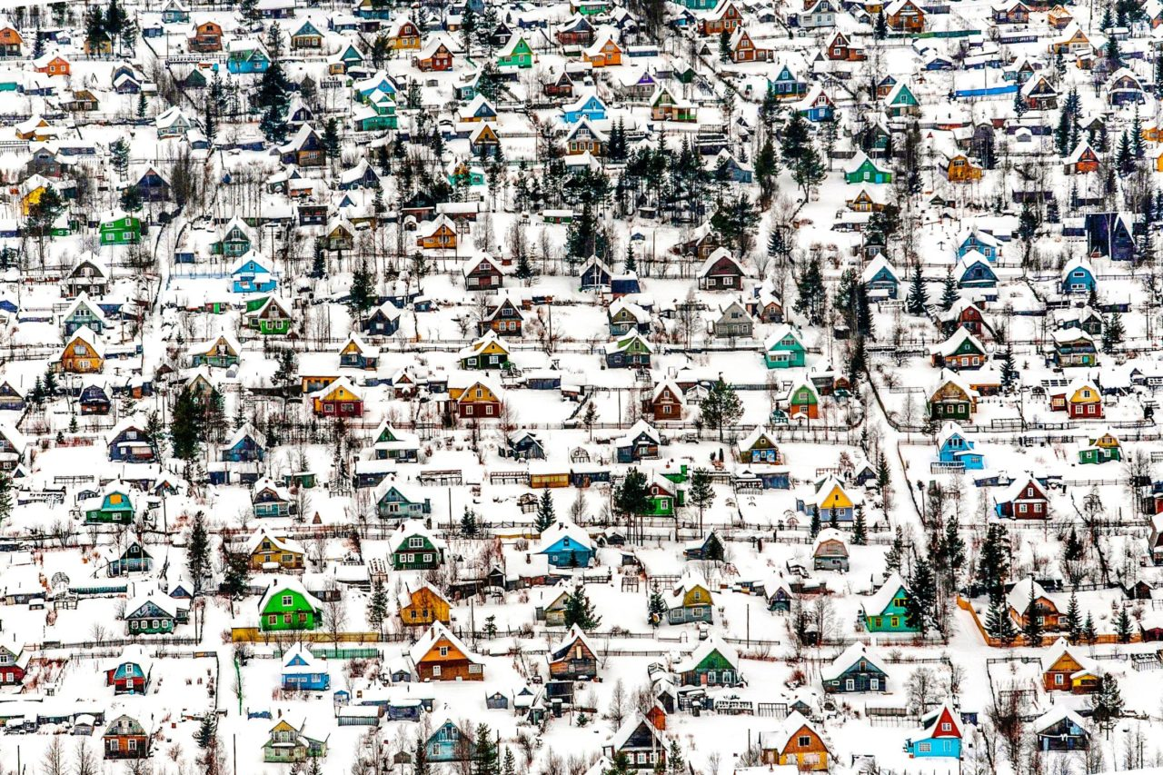 Russian dachas, Arkhangelsk, Russia – Most Beautiful Picture