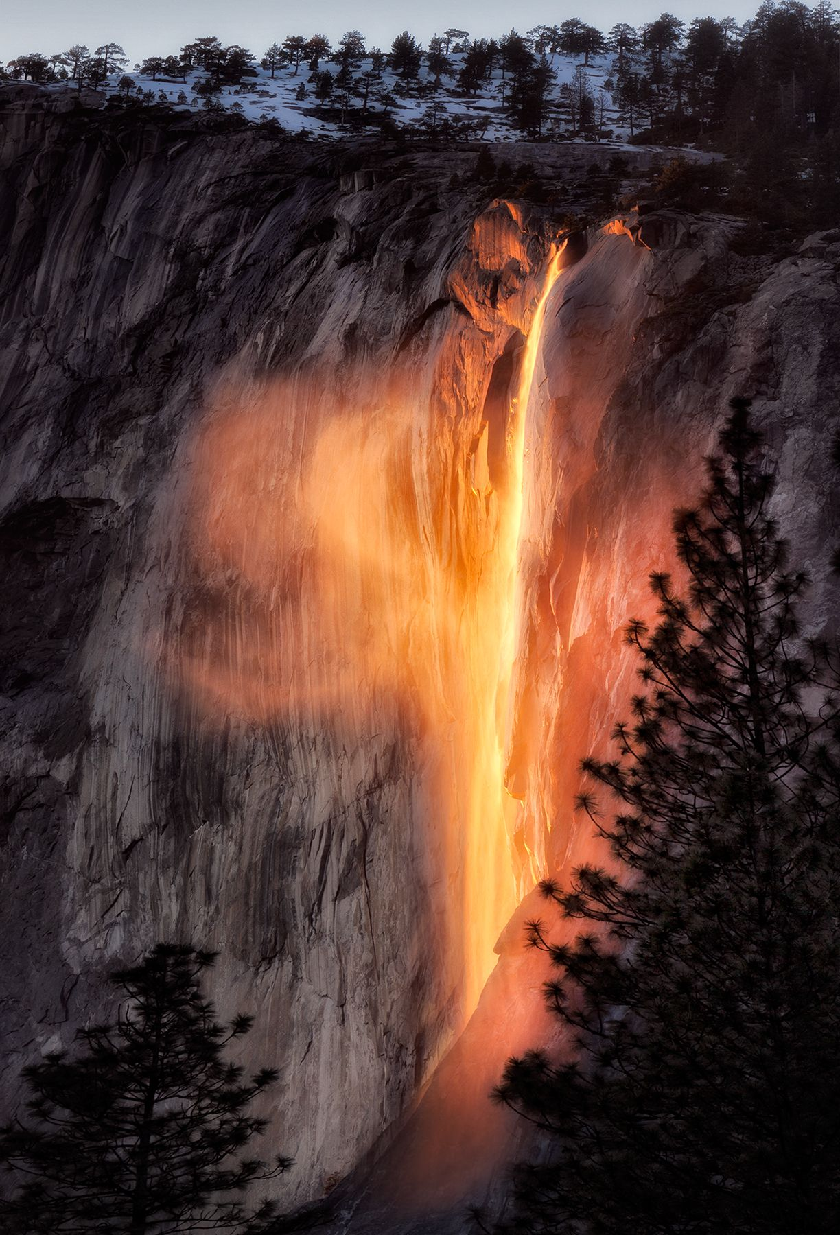 Firefalls, Yosemite – Most Beautiful Picture