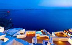 Santorini terraces, Greece – Most Beautiful Picture