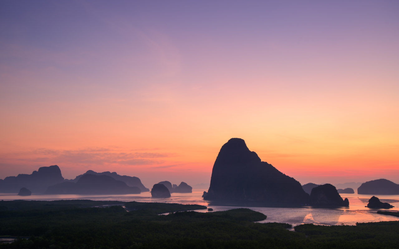 Ao Phang Nga Bay, Thailand – Most Beautiful Picture