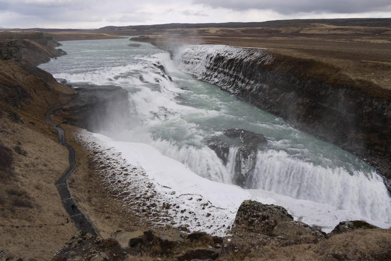 Gullfoss waterfall, Islande – Brut de Pomme