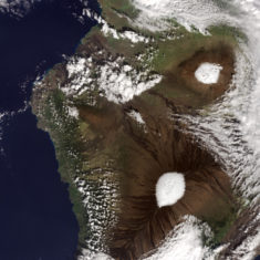 United States – Hawaii: volcanoes under the snow • Map • PopulationData.net