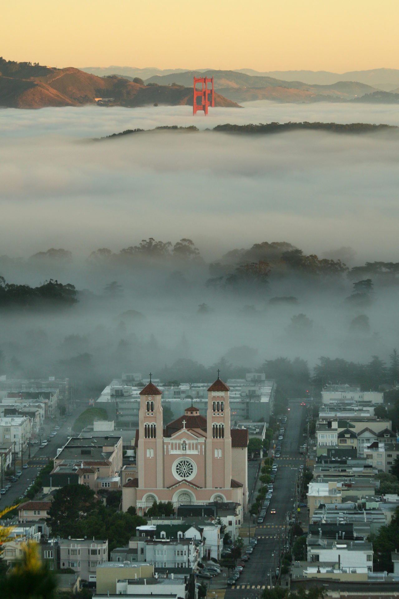 Fog in San Francisco – Most Beautiful Picture