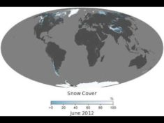 Snow Cover in the world (2000-2019) | MapsRoom
