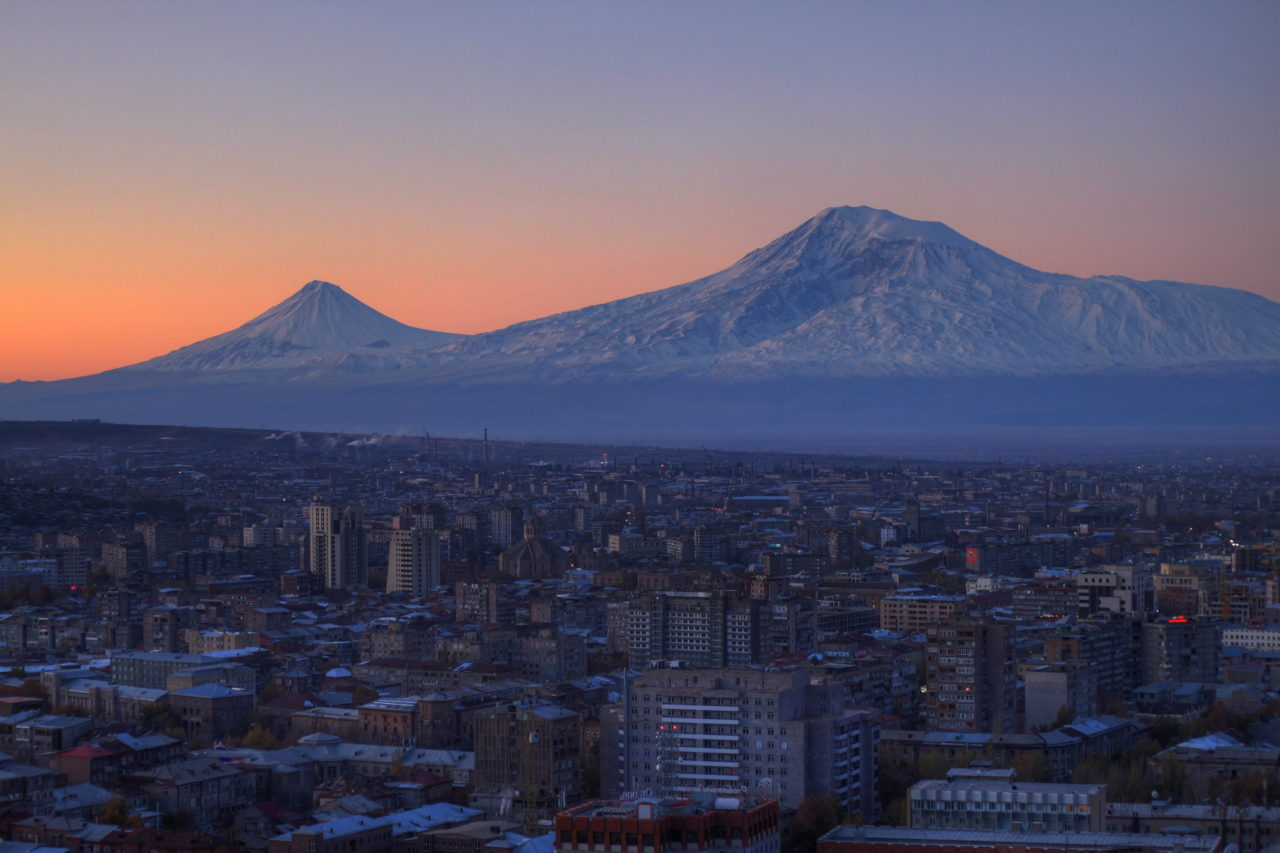 Yerevan and Mount Ararat, Armenia – Most Beautiful Picture