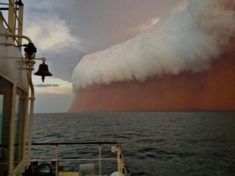 Dust storm, Australia – Most Beautiful Picture