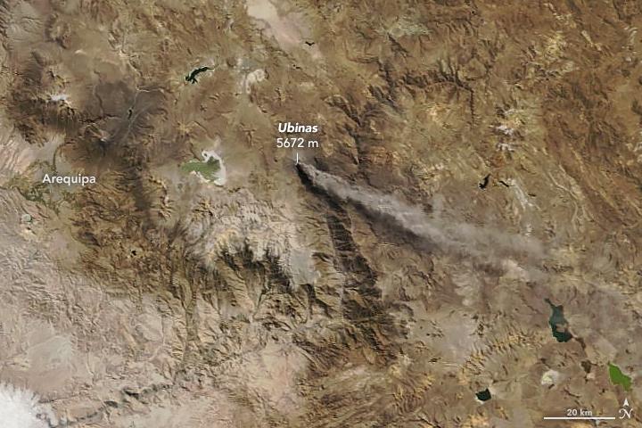 Ubinas Volcano Erupts | OutdoorMountain